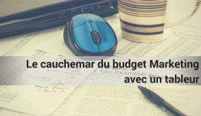 Cauchemar budget marketing