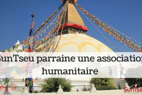 SunTseu parraine une association humanitaire