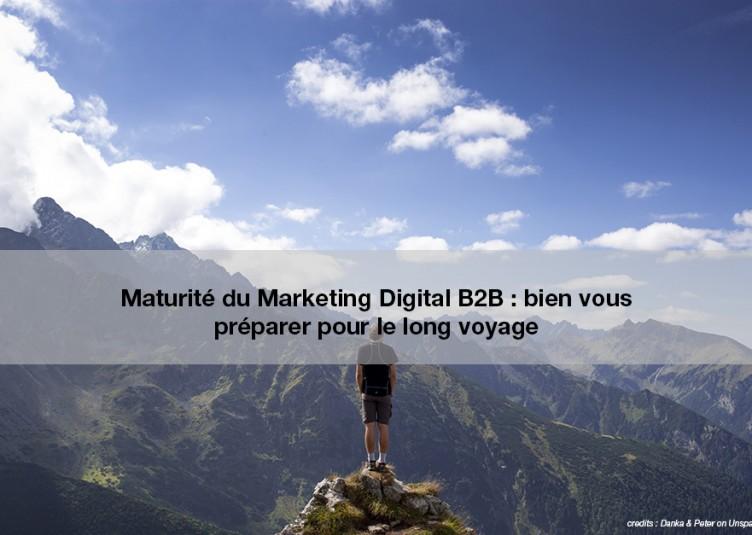 Maturité marketing digital B2B