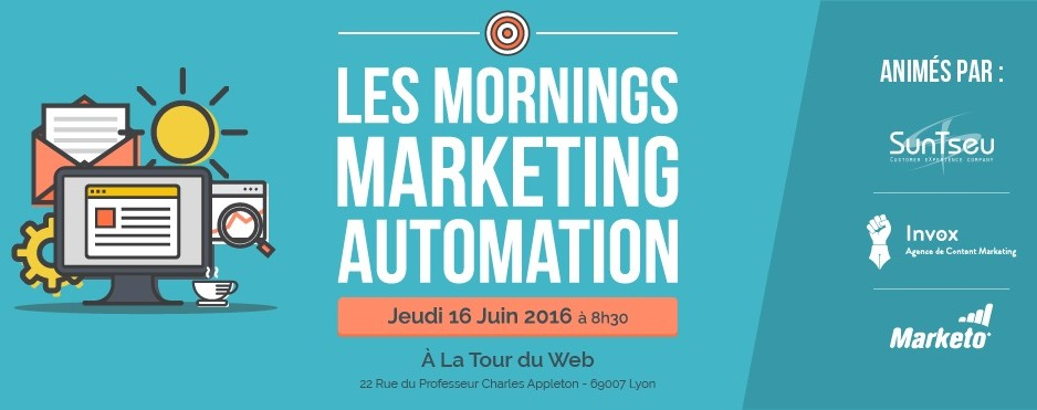 Marketo, SunTseu et Invox lance les mornings Marketing Automation à Lyon
