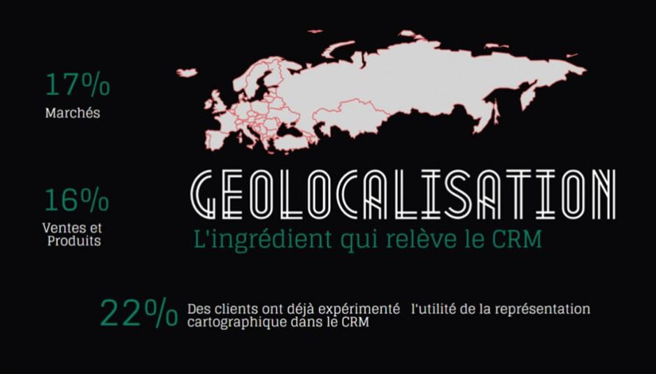 La géolocalisation, l'ingrédient qui relève le CRM
